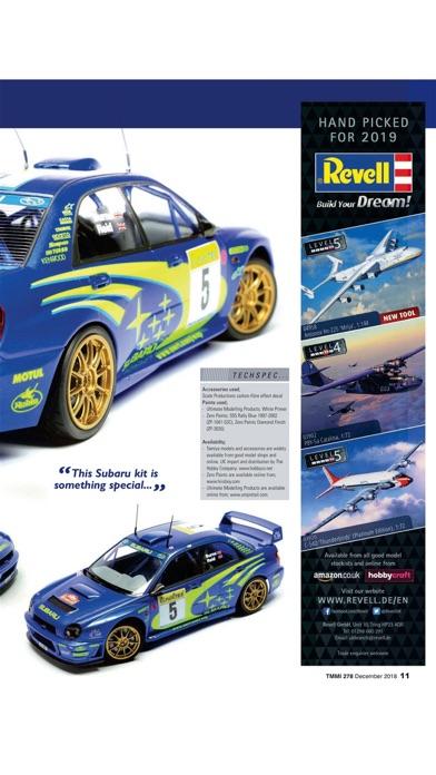 Tamiya Model Magazine review screenshots