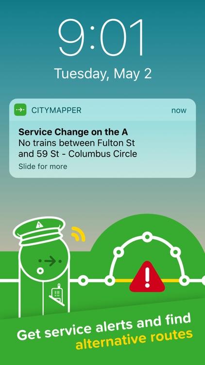 Citymapper Transit Navigation screenshot-3