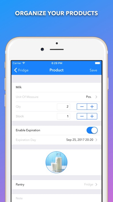 iPantry Pro - Shopping List
