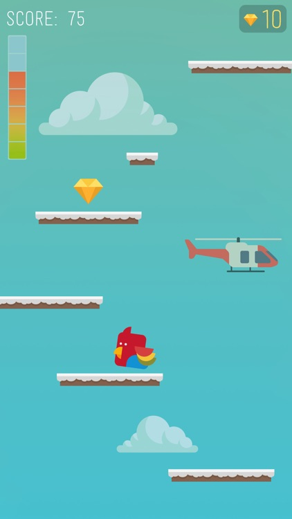 Birds to Space Game screenshot-3