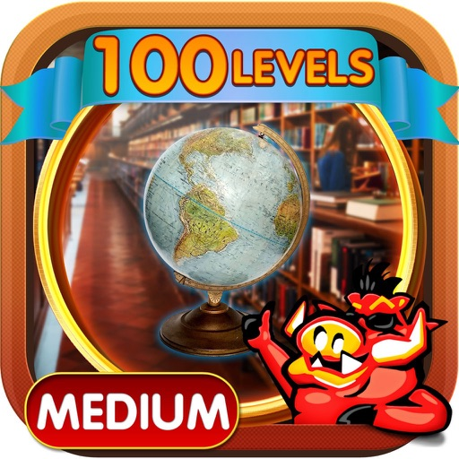 Big Library Hidden Object Game