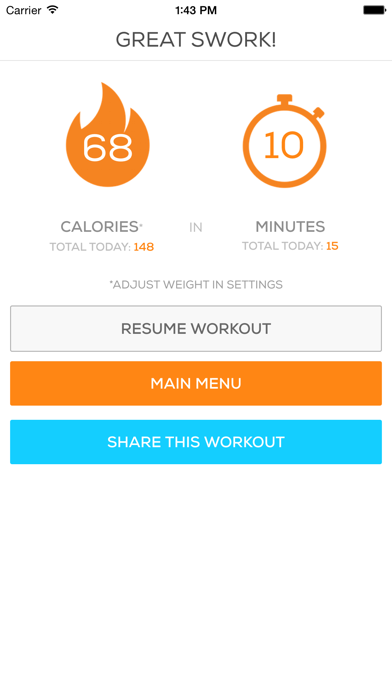 Ab & Core Workouts Screenshot