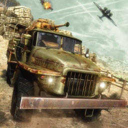 Army Cargo Truck: Battle Game