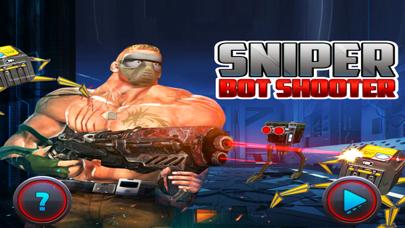 Sniper Bot Gun Shooting screenshot three