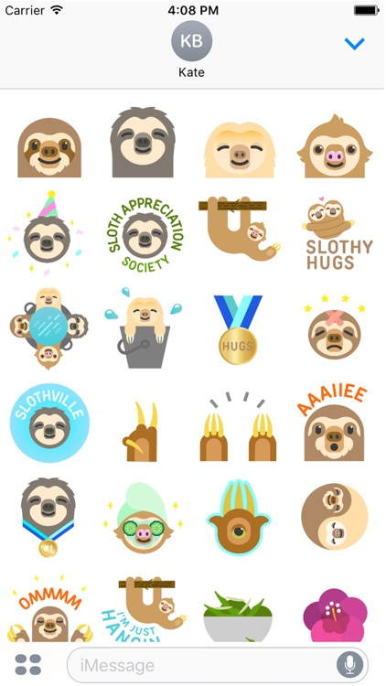 Official Slothville Stickers screenshot-1