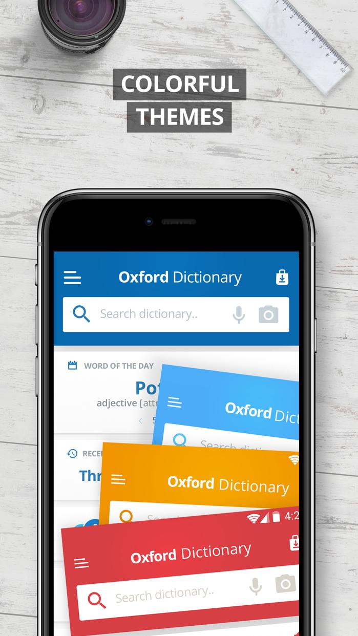 Oxford English Dictionary 2017 Screenshot