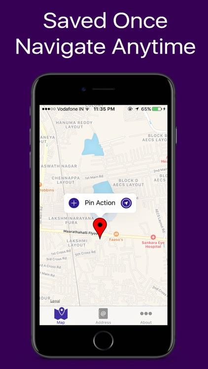 GPS Address Book screenshot-3