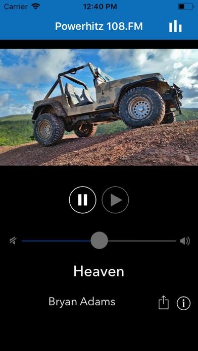 Powerhitz 108.FM screenshot one