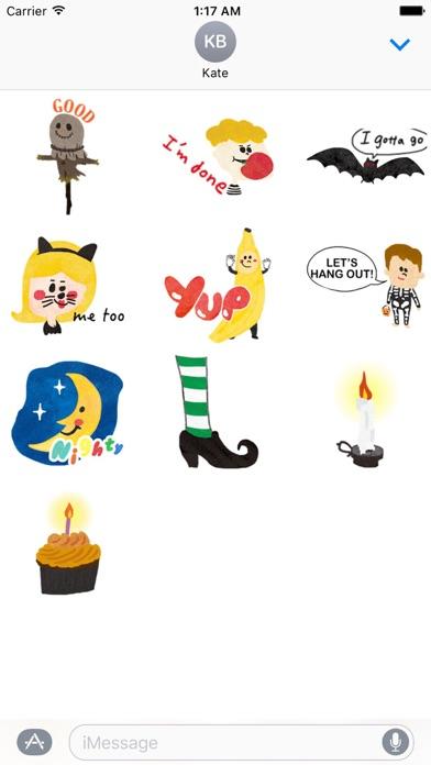 Halloween Characters And Icons screenshot 3