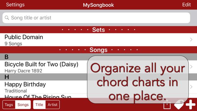 Mysongbook With Free Futulele Digital Ukulele On The App Store