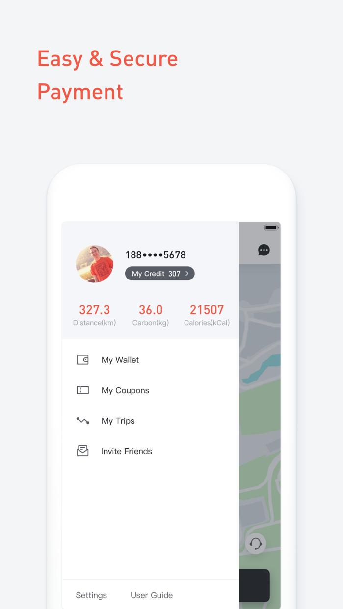 Mobike - Smart Bike Sharing Screenshot