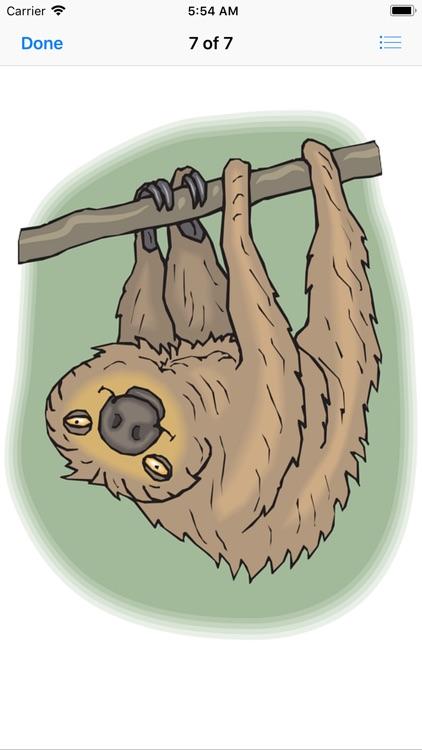 Slow Sloth Stickers screenshot-7