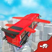 飞公共汽车试点模拟器 - 美罗城重型运输驾驶和飞行