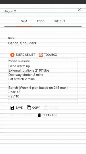 my gym log food journal をapp storeで