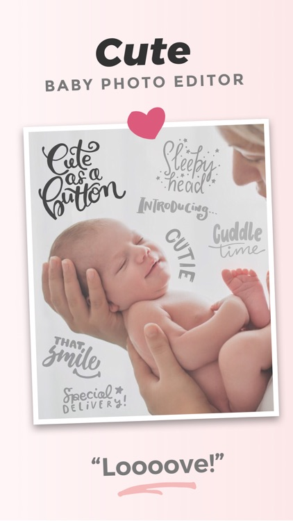 Adorable - Baby Photo Editor