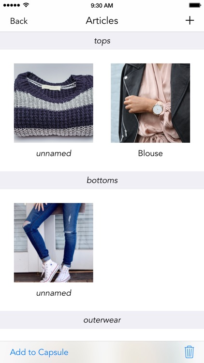 Capsule Wardrobe screenshot-1