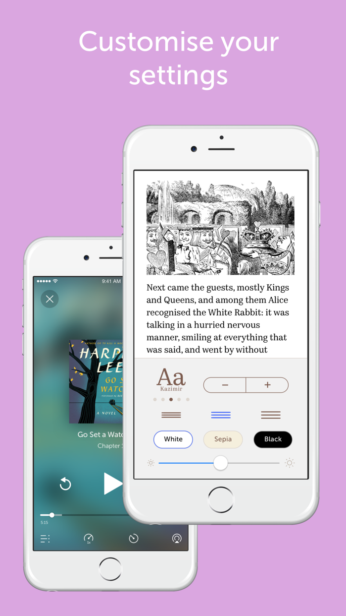 Bookmate. Reading made easy. Screenshot