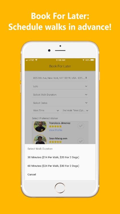 UDog On Demand Dog Walking App screenshot-7
