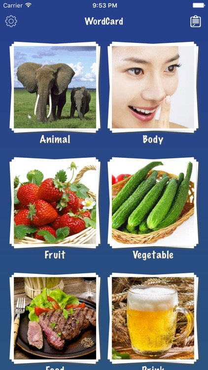 Korean Word Flashcards Learn