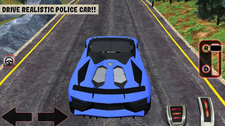 Offroad Police Car Driving