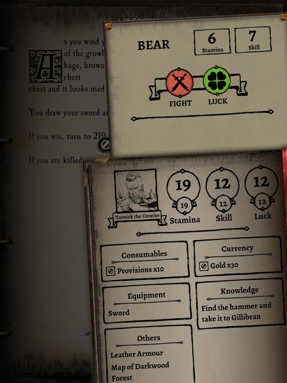 Fighting Fantasy Classics screenshot 9