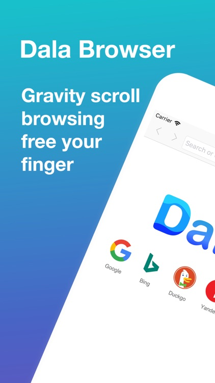 Dala Browser: free your finger
