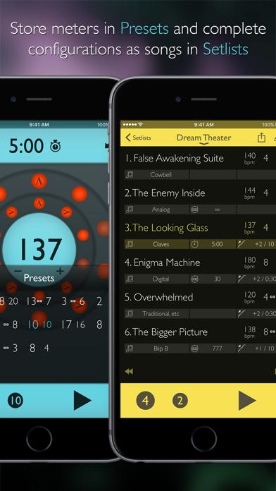 Screenshot for Tempo Advance - Metronom in Denmark App Store