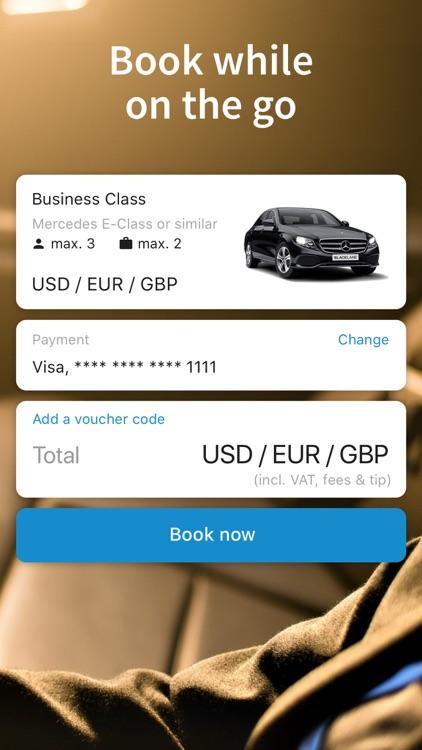 Blacklane - Airport Transfers screenshot-4