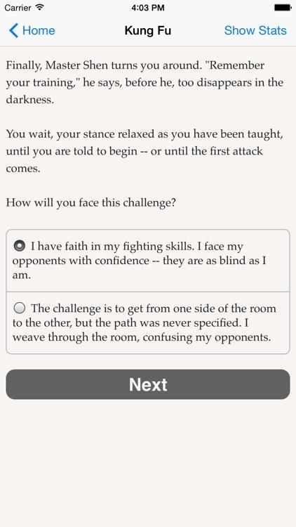 Choice of Kung Fu screenshot-4