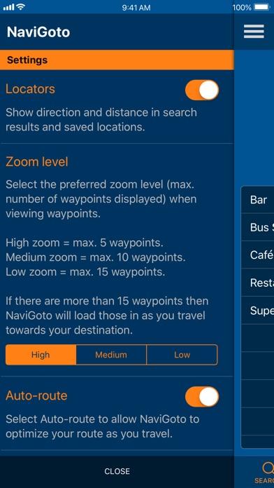 NaviGoto - Simple Navigation screenshot #9