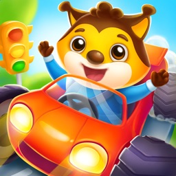 Car game for toddlers and kids