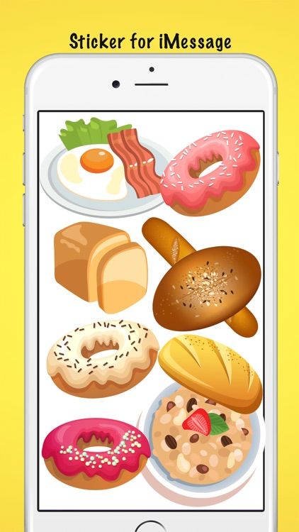 Breakfast Meal Stickers