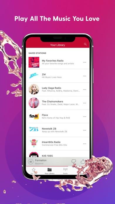 iHeartRadio screenshot four