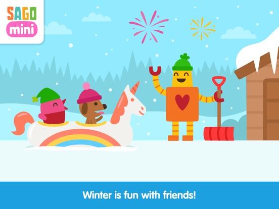 Sago Mini Snow Day screenshot 9