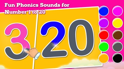 123 Counting & Tracing Numbers screenshot 3