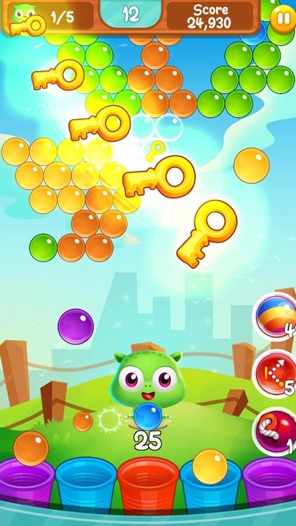 Puppy bubble pop puzzle screenshot-4