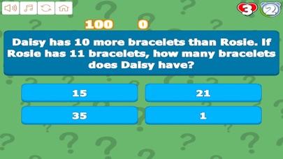 Grade 1 Math Trivia screenshot 2
