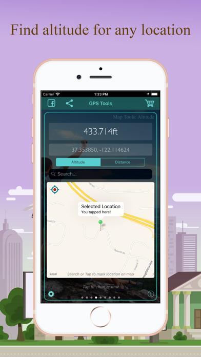 Screenshot of GPS Tools®8