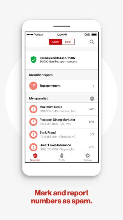 Verizon Caller Name ID screenshot-3
