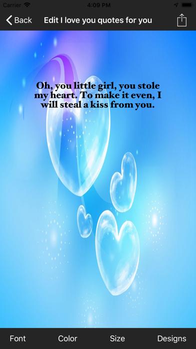I love you quotes for you screenshot four