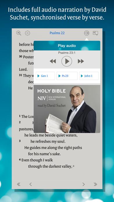 NIV Audio Bible: David Suchetのおすすめ画像3