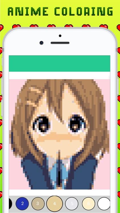 Anime Coloring Academia screenshot-3