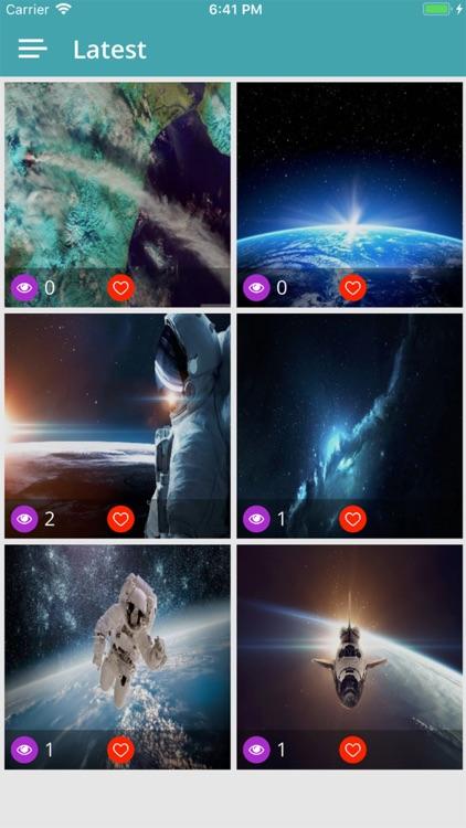 Galaxy Space Wallpaper HD