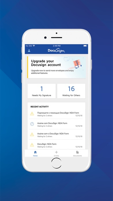 DocuSign - Upload & Sign Docs