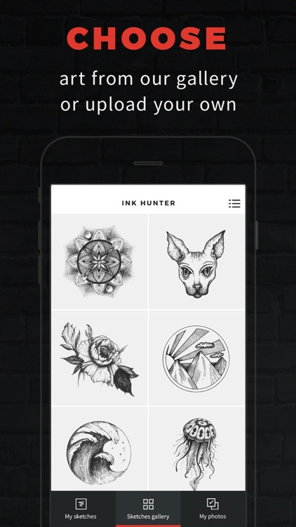 INKHUNTER PRO Tattoos try on screenshot-0