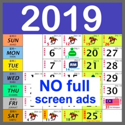 malaysia calendar 2019 2018 4