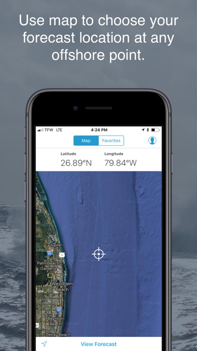 Buoyweather - Marine Forecasts Screenshot