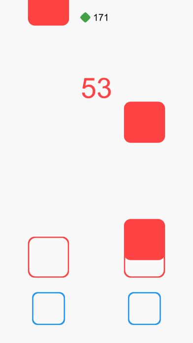 Falling Squares the Game screenshot two