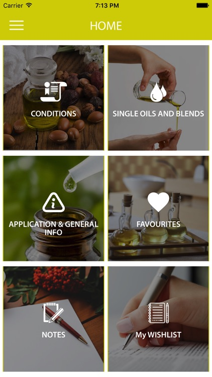 Essential Oils Reference Guide App screenshot-0