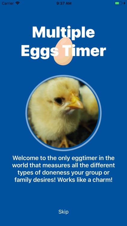 Multiple eggs timer